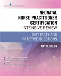 Image of the book cover for 'Neonatal Nurse Practitioner Certification Intensive Review'