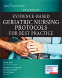 Image of the book cover for 'Evidence-Based Geriatric Nursing Protocols for Best Practice'