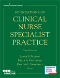Image of the book cover for 'Foundations of Clinical Nurse Specialist Practice'