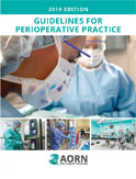 Image of the book cover for 'Guidelines for Perioperative Practice 2019'