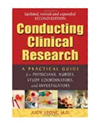 Image of the book cover for 'CONDUCTING CLINICAL RESEARCH'