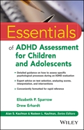 Image of the book cover for 'Essentials of ADHD Assessment for Children and Adolescents'