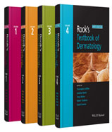 Image of the book cover for 'Rook's Textbook of Dermatology, 4 Volume Set'