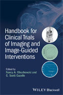 Image of the book cover for 'Handbook for Clinical Trials of Imaging and Image-Guided Interventions'