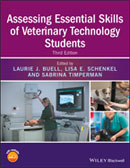 Image of the book cover for 'Assessing Essential Skills of Veterinary Technology Students'