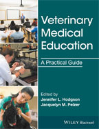 Image of the book cover for 'Veterinary Medical Education'