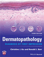 Image of the book cover for 'Dermatopathology'