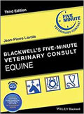 Image of the book cover for 'Blackwell's Five-Minute Veterinary Consult'