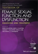 Image of the book cover for 'Textbook of Female Sexual Function and Dysfunction'