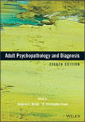 Image of the book cover for 'Adult Psychopathology and Diagnosis'