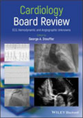 Image of the book cover for 'Cardiology Board Review'
