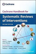 Image of the book cover for 'Cochrane Handbook for Systematic Reviews of Interventions'