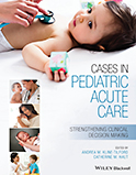 Image of the book cover for 'Cases in Pediatric Acute Care'