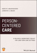 Image of the book cover for 'Person-Centered Care'