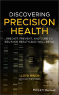 Image of the book cover for 'Discovering Precision Health'