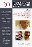 Image of the book cover for '20 QUESTIONS & ANSWERS ABOUT METASTATIC CASTRATION-RESISTANT PROSTATE CANCER'
