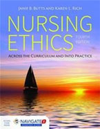Image of the book cover for 'Nursing Ethics'
