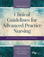 Image of the book cover for 'Clinical Guidelines For Advanced Practice Nursing'