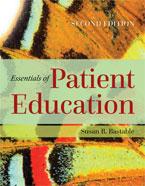 Image of the book cover for 'Essentials Of Patient Education'