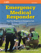 Image of the book cover for 'Emergency Medical Responder'