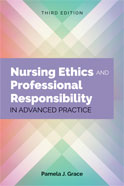 Image of the book cover for 'Nursing Ethics and Professional Responsibility in Advanced Practice'