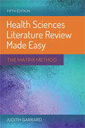 Image of the book cover for 'Health Sciences Literature Review Made Easy'