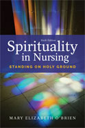 Image of the book cover for 'Spirituality in Nursing'