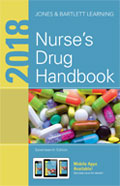 Image of the book cover for '2018 Nurse's Drug Handbook'