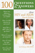Image of the book cover for '100 Questions & Answers About HIV and AIDS'