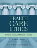 Image of the book cover for 'Health Care Ethics'