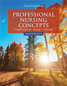 Image of the book cover for 'Professional Nursing Concepts'