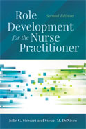 Image of the book cover for 'Role Development for the Nurse Practitioner'
