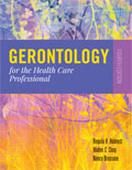 Image of the book cover for 'Gerontology for the Health Care Professional'