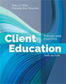 Image of the book cover for 'Client Education'
