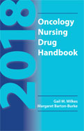 Image of the book cover for '2018 Oncology Nursing Drug Handbook'