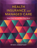 Image of the book cover for 'Health Insurance and Managed Care'