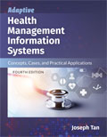 Image of the book cover for 'Adaptive Health Management Information Systems'