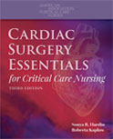 Image of the book cover for 'Cardiac Surgery Essentials for Critical Care Nursing'