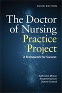 Image of the book cover for 'The Doctor of Nursing Practice Project'