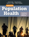 Image of the book cover for 'Population Health'