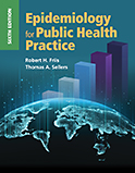 Image of the book cover for 'Epidemiology for Public Health Practice'