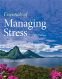 Image of the book cover for 'Essentials of Managing Stress'