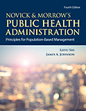 Image of the book cover for 'Novick & Morrow's Public Health Administration'
