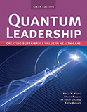 Image of the book cover for 'Quantum Leadership'