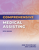 Image of the book cover for 'Jones & Bartlett Learning's Comprehensive Medical Assisting'