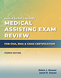 Image of the book cover for 'Medical Assisting Exam Review for CMA, RMA & CMAS Certification'