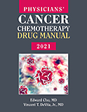 Image of the book cover for 'Physicians' Cancer Chemotherapy Drug Manual 2021'