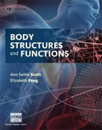 Image of the book cover for 'Body Structures and Functions'