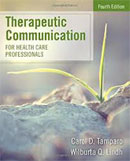 Image of the book cover for 'Therapeutic Communication for Health Care Professionals'