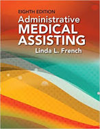 Image of the book cover for 'Administrative Medical Assisting'